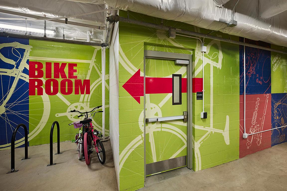 BIKE ROOM feature image