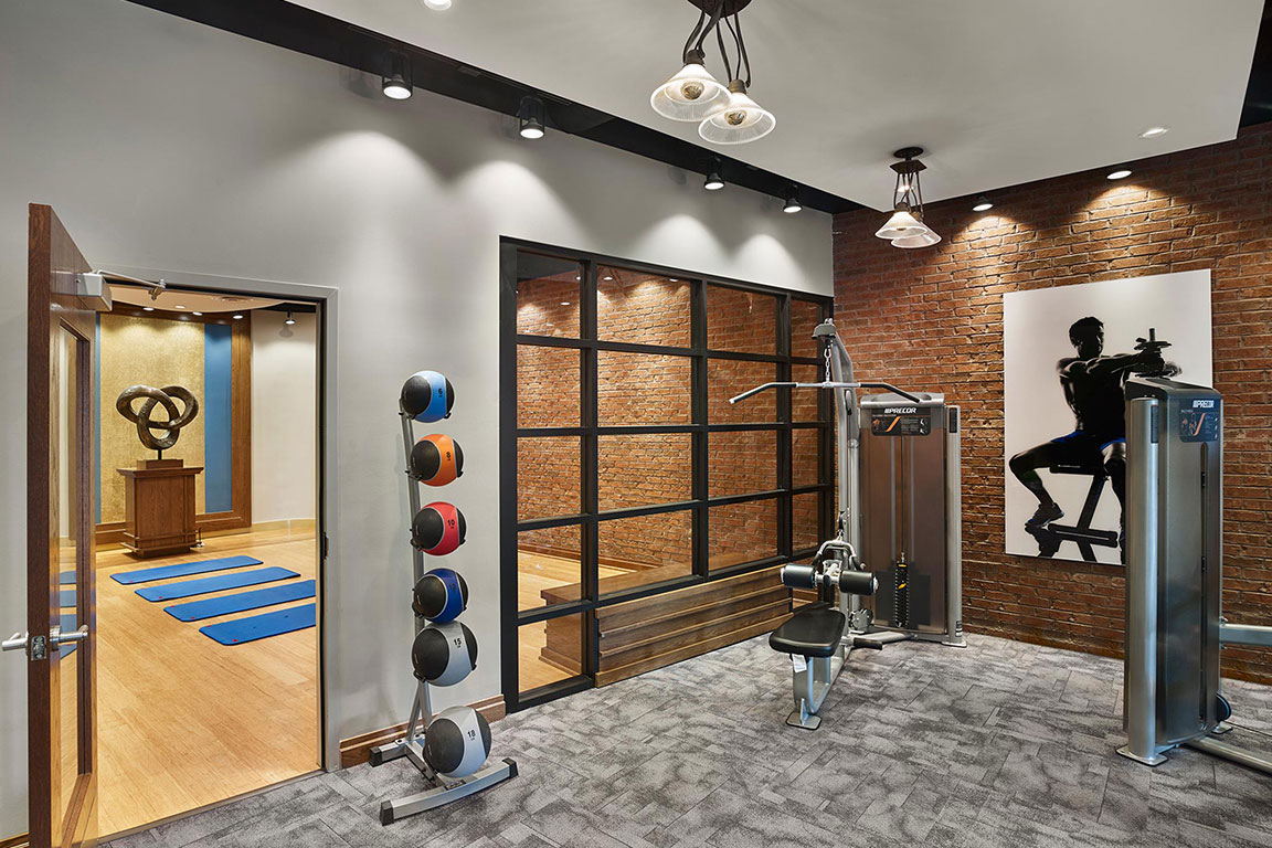 FITNESS CENTER & YOGA ROOM feature image