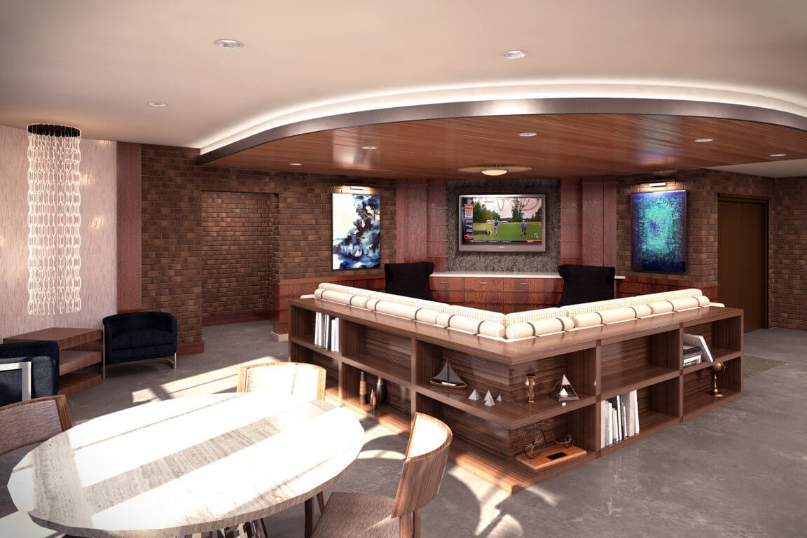 MEDIA & GAME ROOM feature image