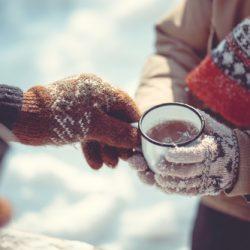 Winter hot coco