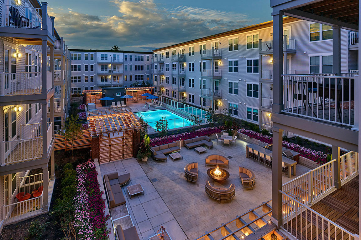 COURTYARD LOUNGE & SWIMMING POOL feature image